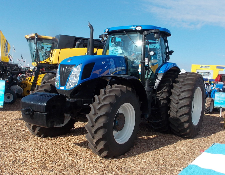New Holland Tractor Specials : Tractor new holland t maquinac