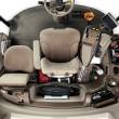 Cosechadora John Deere S680 Cabina