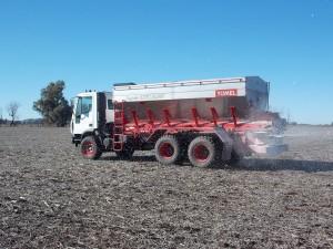 Fertilizadora Yomel Impala Truck 25000 Hectareas