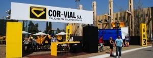 Cor-Vial stand