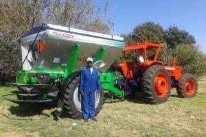 Metalfor fertilizadora en Sudafrica