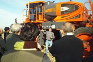 Jacto pulverizadora Uniport 3030 prueba a campo -06