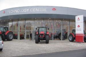 Massey Ferguson centro de tecnología Beauvais-Francia
