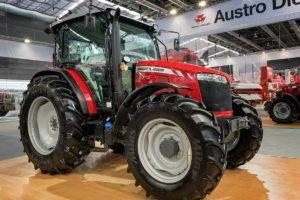 Massey Ferguson lanza tractores de la nueva serie global MF 6700