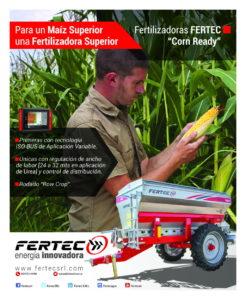 "Fertec Mailing ""Corn Ready"""