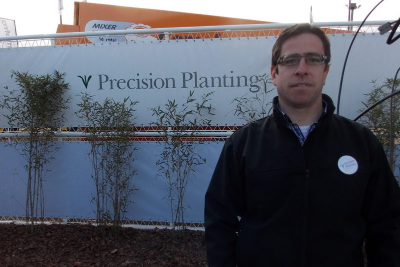 Gonzalo Lorenzo (gerente Precision Planting)