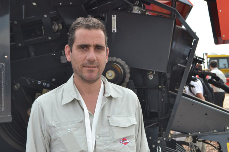 José Luis Vergani (gerente comercial de Kuhn)